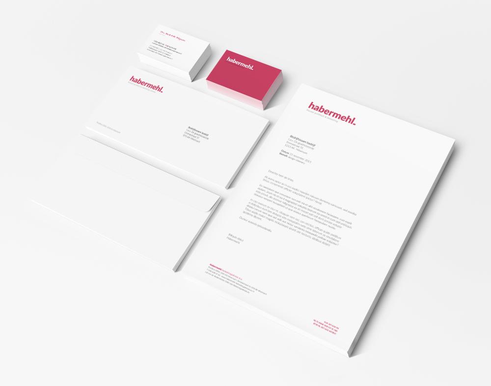 Stationery - Brand identity - Habermehl.